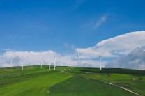 Windmills along Autostrada A14