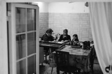 Three Generations of orecchiette makers