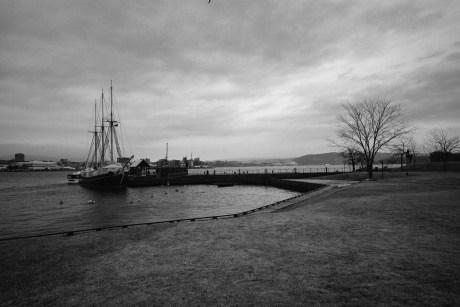 Dock next to Kon-Tiki museum