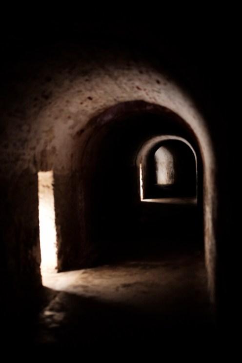 """Long Tunnel"" / Castillo de Cristobal / Leica M-P / Summilux 50mm"