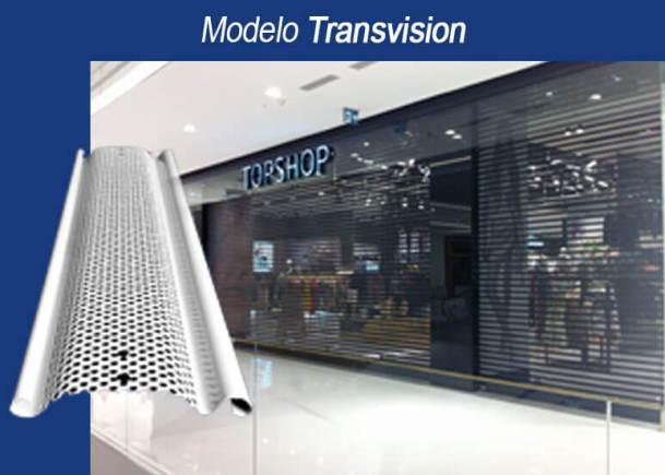 Lâmina Modelo Transvision
