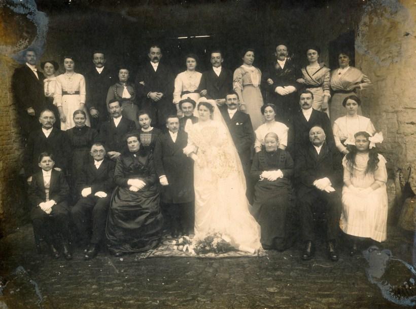Mariage à Favarge en 1913