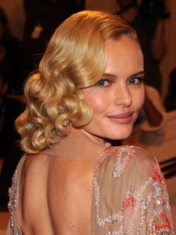 Celebrity Inspired Vintage Hairstyles