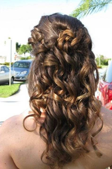 Classy Homecoming Hairstyles