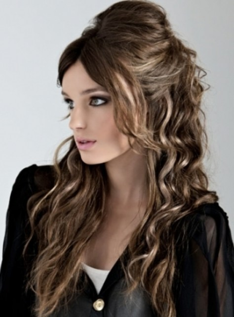 Curly Hairstyles Easy Curly Hairstyles For School