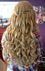 curly hairstyles prom party