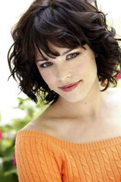 Curly Medium Bob Hairstyles