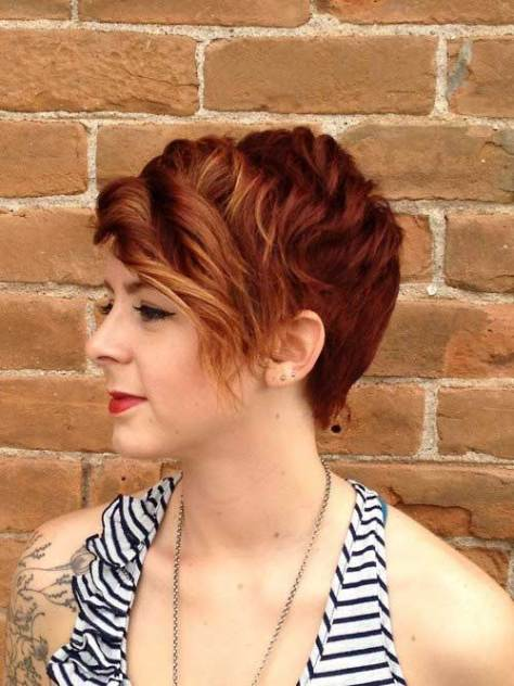 Curly Pixie Hairstyles images