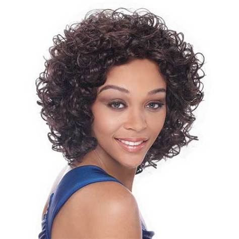 Curly Quick Weave Hairstyle for Black Women