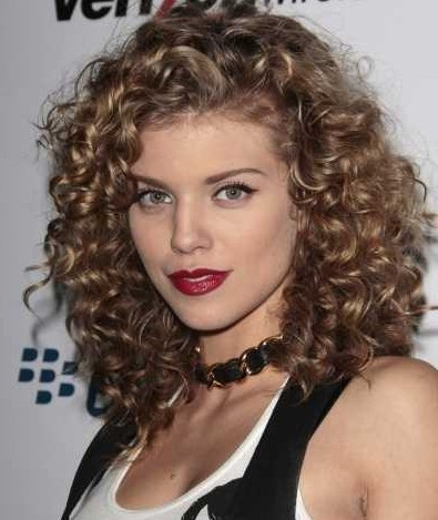 Cute Easy Long Curly Bob Hairstyles