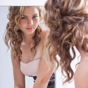 simple hairstyles curly hair
