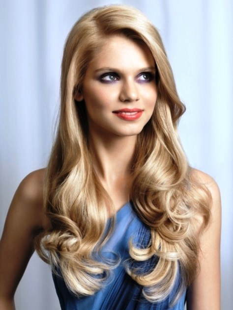 Hairstyles For Long Curly Hair...