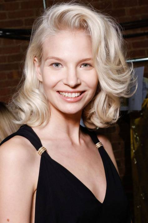 Jenny Packham vintage curly hairstyles 2015