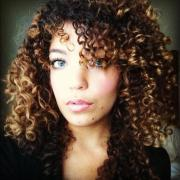 mixed curly hairstyles ideas