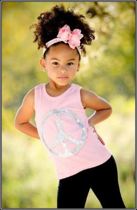 Natural Pageant Hairstyles For Toddlers