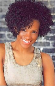 curly afro hairstyles womens