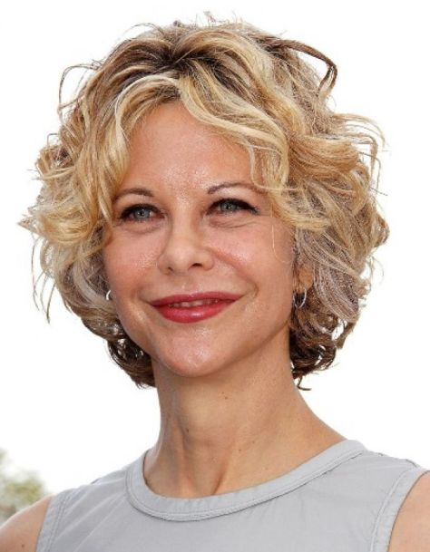 Short Curly Hairstyles For Work