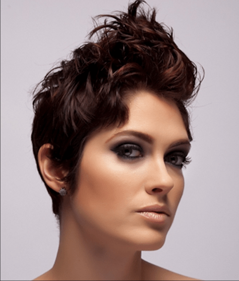 Short Curly Pixie Hair Styles Cool Cool Hair Styles