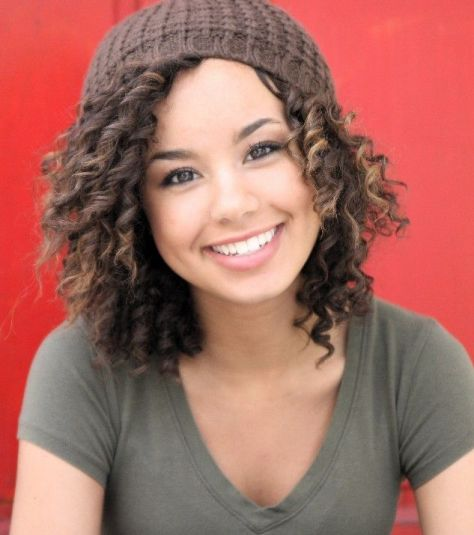 Short Naturally Curly Hairstyles pics