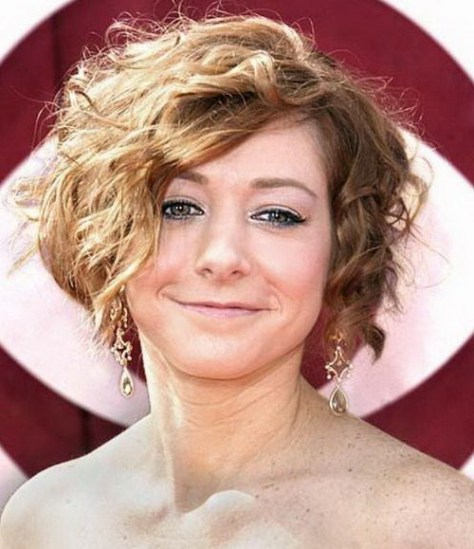 Summer Short Curly Hairstyles