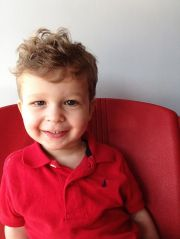 curly hair style toddlers