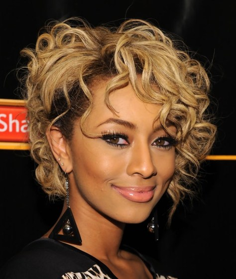 Trendy Short Curly Hairstyle 2015