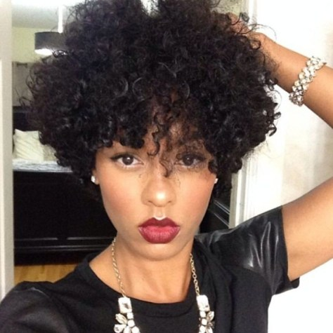 Trendy Short Haircuts for African Ame