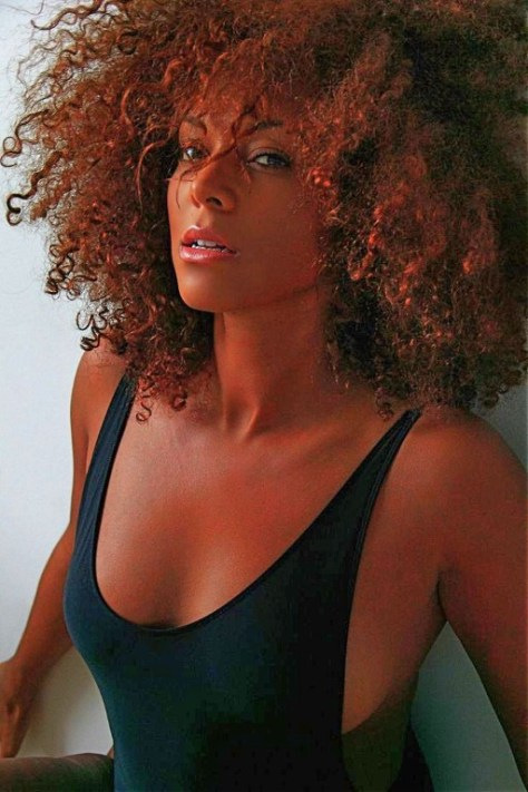 big curly afro hairstyles