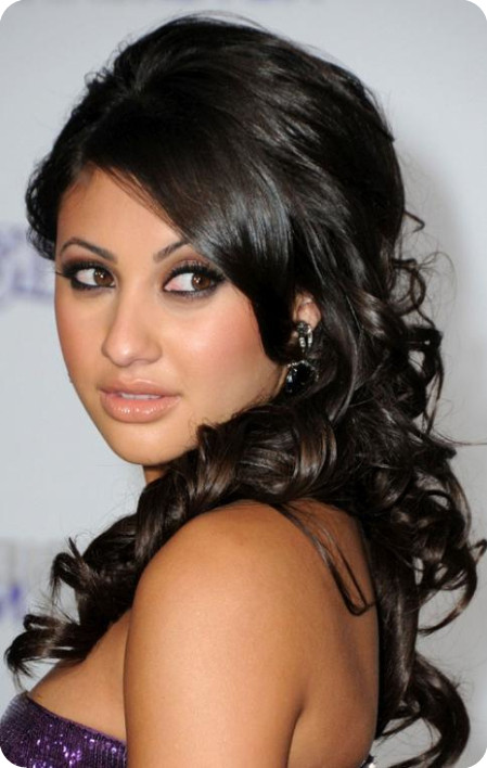 celebrity homecoming hairstyles