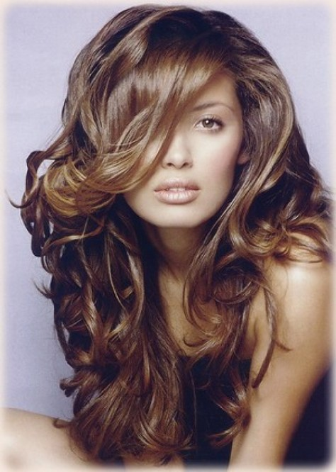 curly hairstyles for long hair