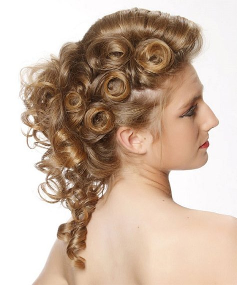 curly homecoming hairstyles pics