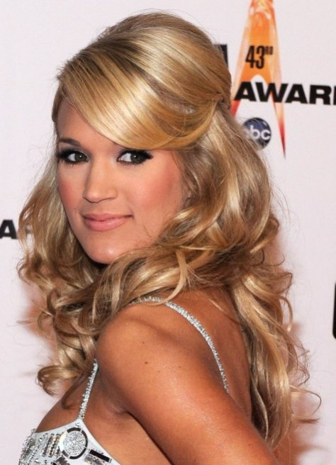 easy curly hairstyles for homecoming