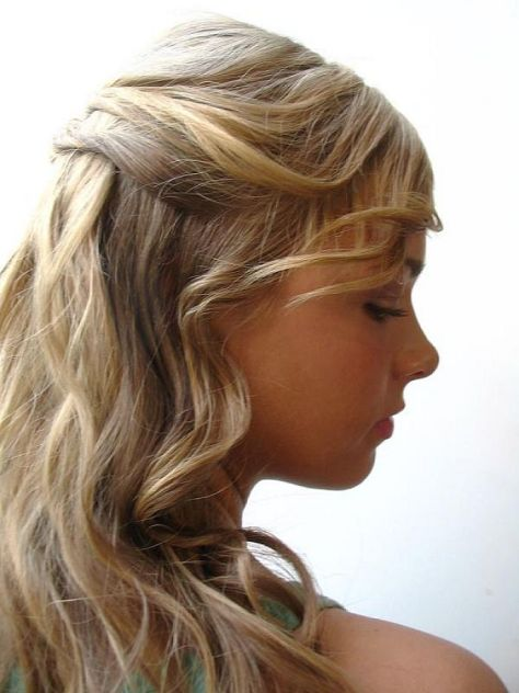 easy hairstyles for long hair.