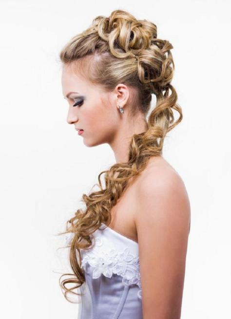 easy updos for curly hair step by step ...