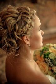 curly updo hairstyle ideas