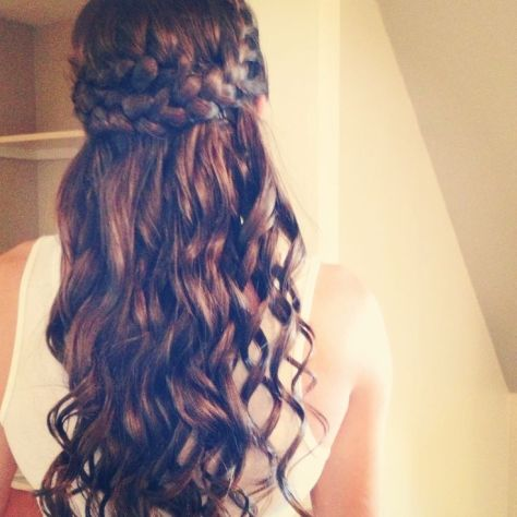 Bridesmaid Hair Braids