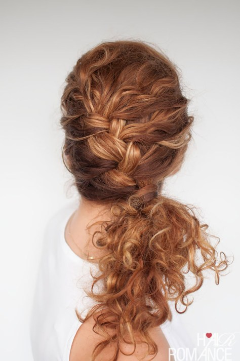 Everyday curly hairstyles