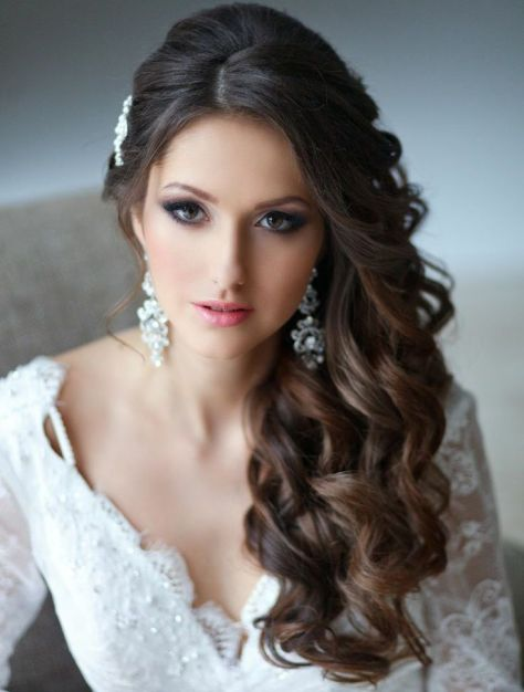 Side Swept Hairstyles Wedding