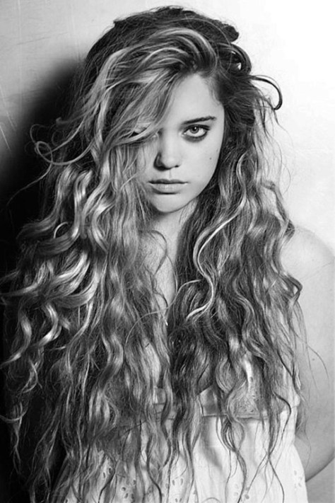 Curly Hairstyles With Bangs Gallery...