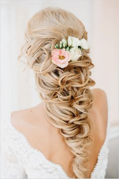 Fall Wedding Hairstyle