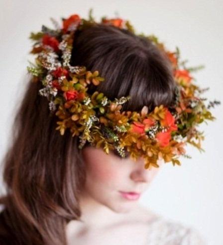 Stylish Fall Wedding Hairstyles