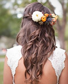 Trendy Fall Wedding Hairstyles