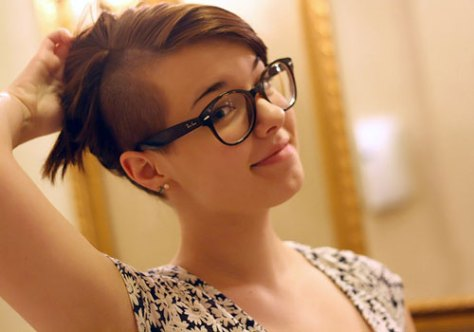 undercut hairstyles for girl