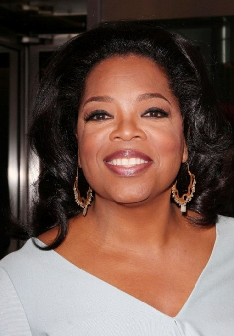 Oprah Winfrey Black Curly Hairstyle for Black Women Over 50