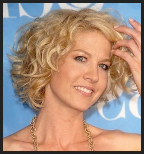 Short Fluffy Curls Haircuts for Women Over 50