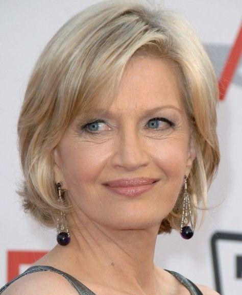 Short Hair Styles For Women Over 50..