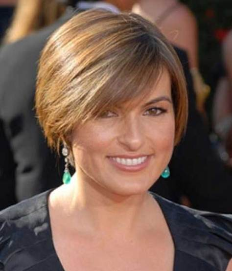 Short Straight Bob Haircut Women Over 50
