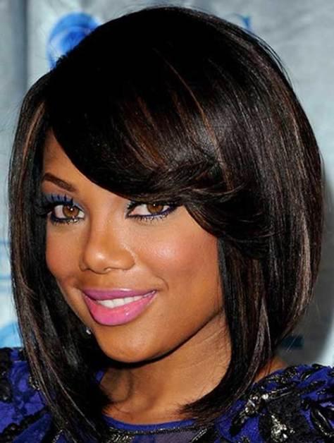 Short Straight Hair Styles for Black Women Over 50