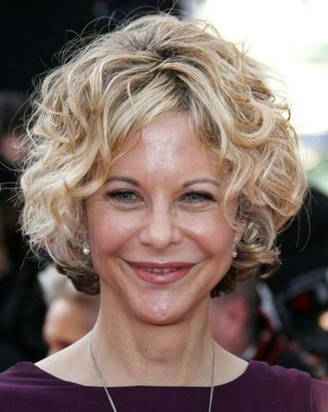 Women Over 50 With Curly Hairstyles For Short Hair