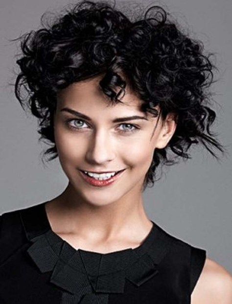 2016 Short Curly Hairstyles